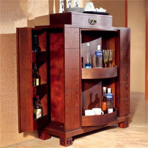 家装设计酒柜家具搭配