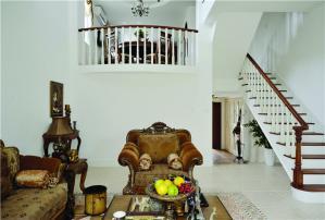 实木美式客厅家具