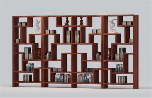 中式书柜壁柜酒柜