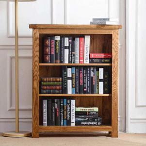 欧式矮书柜展示
