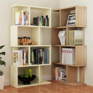 错层简易书柜