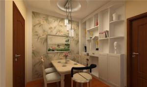 欧式奢华饭厅装饰柜