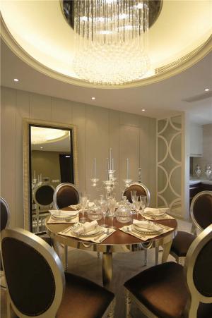 欧式餐厅餐桌