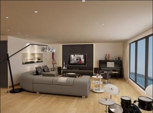 现代悬空电视柜