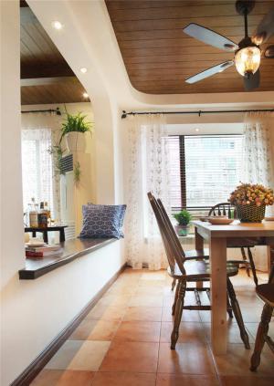实木客厅餐边柜