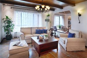 好看的美式客厅家具