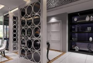客厅隔断柜设计图片大全