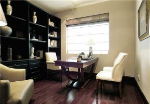 书桌书柜组合效果图片与价格