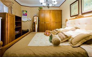 儿童房家装样板间家具搭配