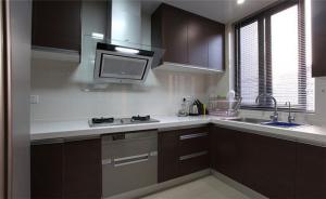 铝合金整体橱柜厨房整体图