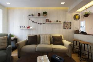 小户型家居沙发背景墙图片