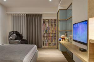 卧室房电视墙装修效果图