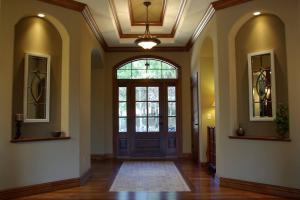 美式别墅房屋装修玄关