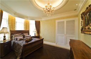 欧式奢华小卧室装修案例