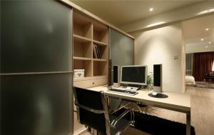 拐角书桌高清家具图