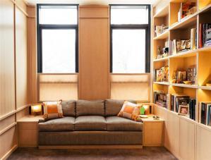 阳台书柜榻榻米沙发