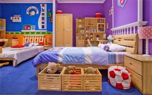 大空间双人儿童房