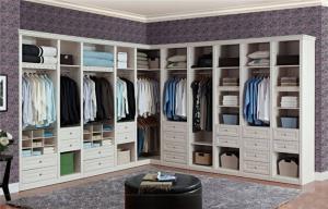 开放式整体衣柜实拍图