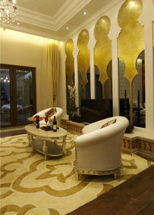 美式客厅椅子套装