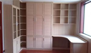 简易卧室转角衣柜