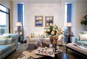 欧式客厅组合沙发