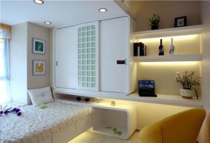 美式十平米小卧室装修图