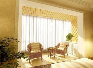 客厅阳台装修效果图垭口设计