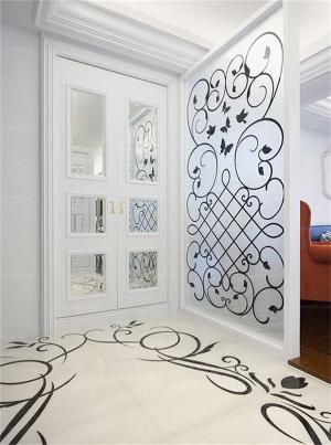 玄关吊顶装修效果图定做家具