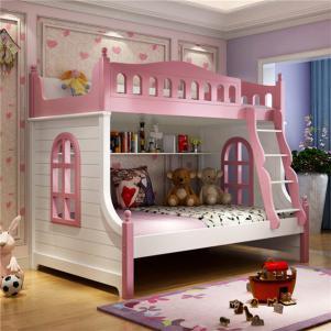 儿童家具上下床家具图片