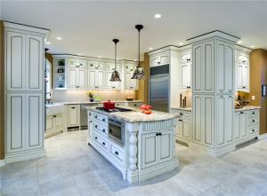 美式别墅风格厨房橱柜
