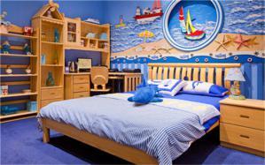 国外儿童房海洋壁纸
