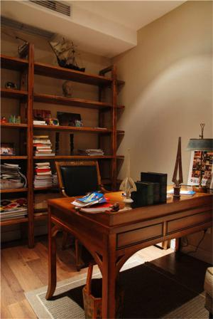 红木古典多功能书桌
