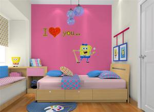 卡通儿童房颜色