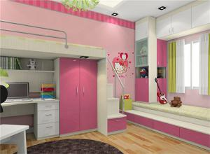 女生创意儿童房