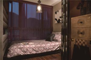 现代家装飘窗设计效果图欣