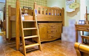 儿童房双层床效果图家具免费设计