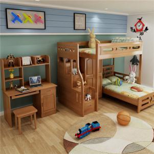 儿童卧室上下床装修效果图高清