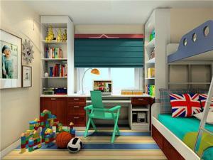 儿童书房装修效果图创意设计