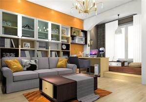 家居榻榻米客厅设计图片