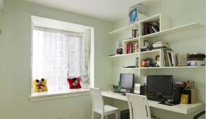 书柜组合书桌案例