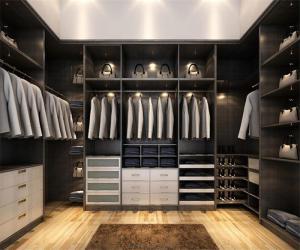 走入式衣柜风格