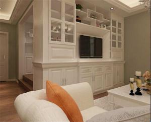 豪华客厅装饰柜