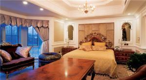 小户型带飘窗的卧室装修图片