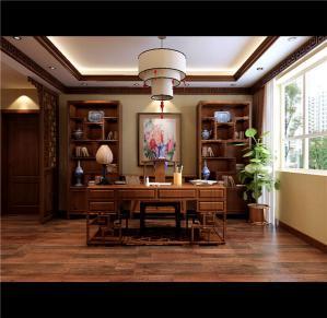 书房装饰设计古典家具