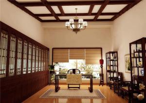 高清无水印中式书房装修效