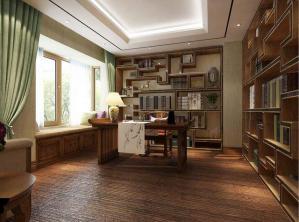 新中式书柜书桌书桌椅