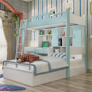 定制家具上下床带衣柜