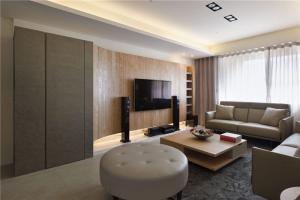 日系小户型电视背景墙