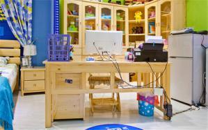 儿童房布置家具布置