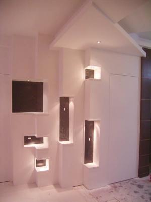 玄关设计图装饰墙